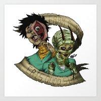 Corpse Boys Art Print