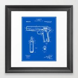 Gun Patent Framed Art Print