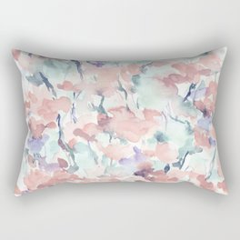 Divine Feminine Pale Coral Rectangular Pillow