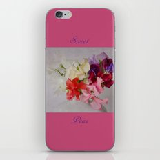 Sweet Peas iPhone & iPod Skin
