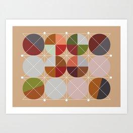 'Joy'metric Decor Art Print