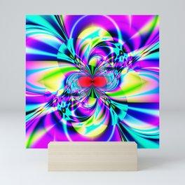 Subatomic Fractal Art Mini Art Print