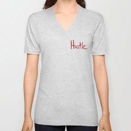 Hustle Unisex V-Neck