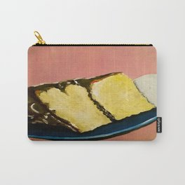 YELLOW CAKE AND ICE CREAM Carry-All Pouch