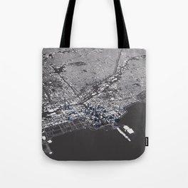 Chicago City Map I Tote Bag