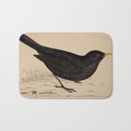 Naturalist Blackbird Bath Mat