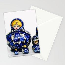 Babushka nesting dolls Stationery Cards