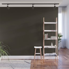 Garden Song ~ Dark Brown Wall Mural