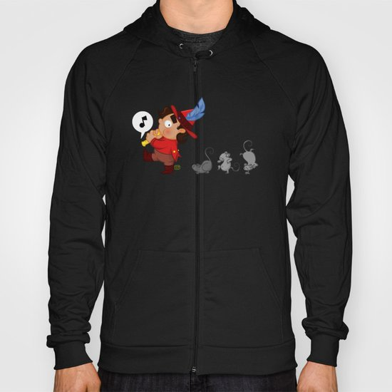 The Pied Piper of Hamelin  Hoody