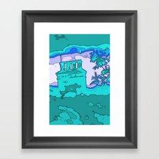 I Dreamt of the House Again. Framed Art Print
