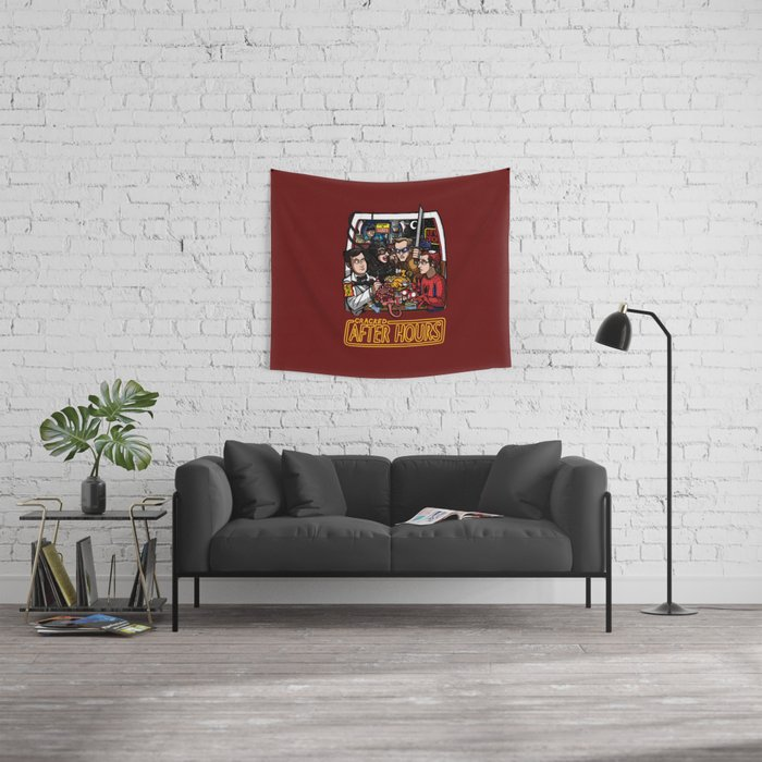 After Hours: The Shirt Wall Tapestry