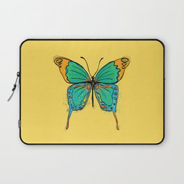 Simple Colorful Butterfly Laptop Sleeve