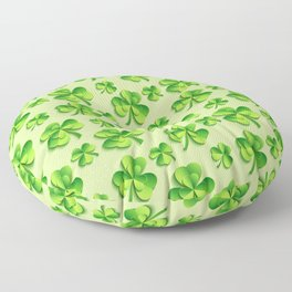 Happy St. Patrick's Day Pattern | Ireland Luck Floor Pillow