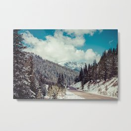 Independence Pass // Aspen, CO Metal Print