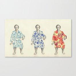 bathrobe Canvas Print