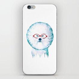 Dog-dandelion iPhone Skin