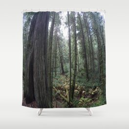 Go pro forest Canada Shower Curtain