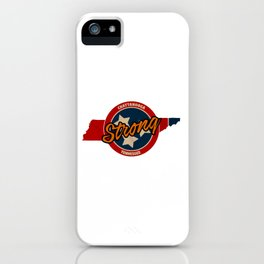 Chattanooga Strong iPhone Case