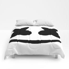 Marshmello face Comforters