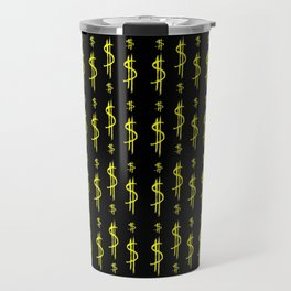 Symbol of dollar 4 Travel Mug