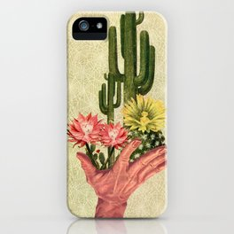 Desert Cacti Handled Delicately iPhone Case