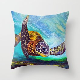 For the love of Michael Angelo Throw Pillow