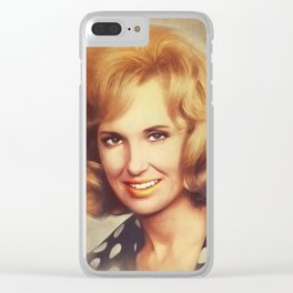 Tammy Wynette, Music Legend Clear iPhone Case