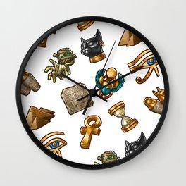 Nefertiti's Quest : Patterns Wall Clock