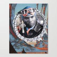 pilot Canvas Prints featuring Pilot by Jedi Master Schmidt