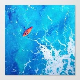 Kayak-Itti-Yak Canvas Print