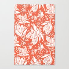 Magnolia Shower Canvas Print
