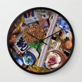 Psychotronic Psilliness Wall Clock