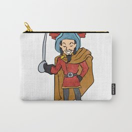 Musketeer Cape with Saber Cartoon Carry-All Pouch