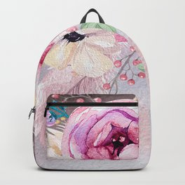 Flowers bouquet #53 Backpack