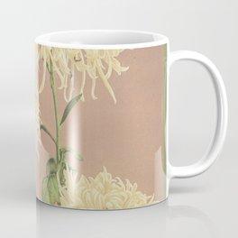 Yellow Chrysanthemum Floral Photographic Painting Coffee Mug