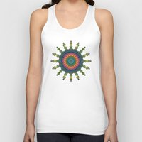 trippy Tank Tops featuring Trippy by Lyle Hatch