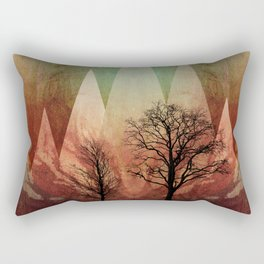 TREES under MAGIC MOUNTAINS I Rectangular Pillow