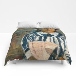 The Ancestors of Tehamana by Paul Gauguin Comforters