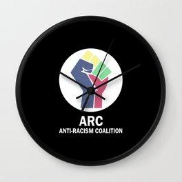 ARC Anti-racism Coalition Wall Clock