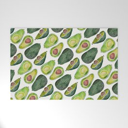 Avocado Slices Welcome Mat