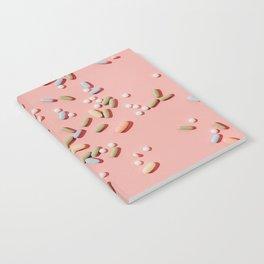 Pastel pills Notebook