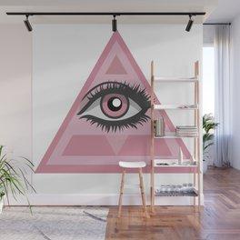 Eye in the sky Wall Mural