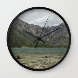 Avalanche Lake No. 2 - Glacier NP Wall Clock