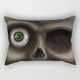 Creepy Rectangular Pillow