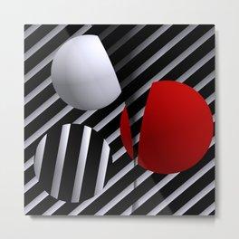 geometrical -3- Metal Print