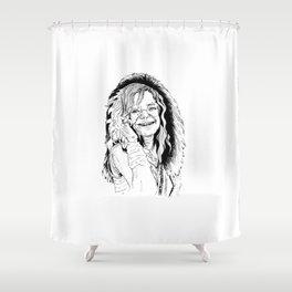 Little Girl Janis Shower Curtain