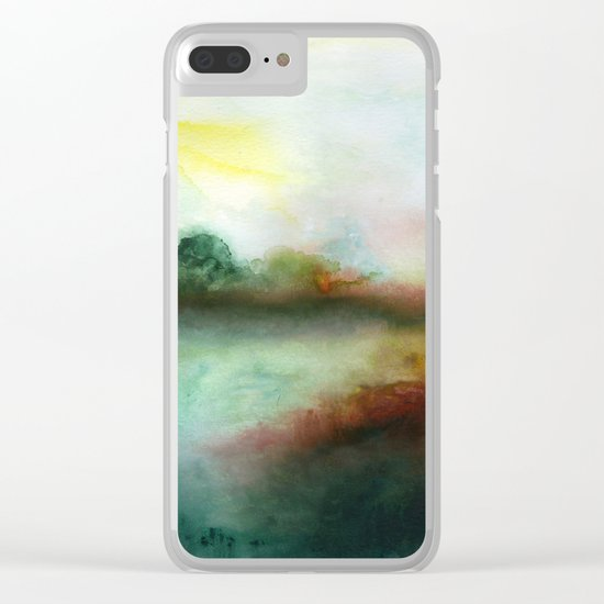 Mourning Morning Clear iPhone Case