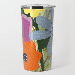 Bringing Summer Wildflowers Inside Travel Mug