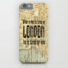 London Type iPhone 6 Slim Case