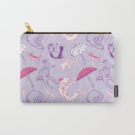 Raining Cats and Dogs Carry-All Pouch